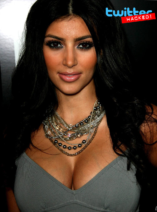 Hackers attacked the Twitter account of Kim Kardashian