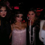 Kim Kardashian Eva Longoria bday party