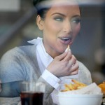 Kim Kardashian fries