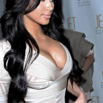 Kim Kardashian in Jet nightclub