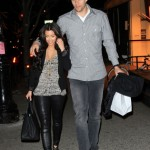 Kim Kardashian and Kris Humphries romantic walk