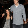 Romantic walk of Kim Kardashian and Kris Humphries