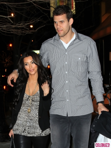 Kim Kardashian and Kris Humphries NYC