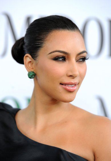 Kim Kardashian has participated in Midori Melon Liqueur Trunk Show in Hollywood