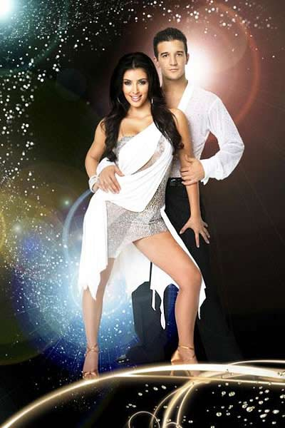 Kim Kardashian dancing with the stars