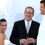Kim and Kris Humphries wedding