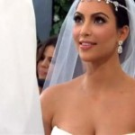 Kim Kardashian wedding dress