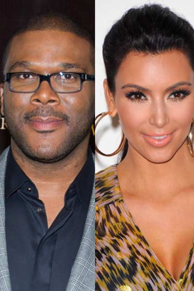 Kim Kardashian will play in Tyler Perry's film