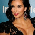 Kim Kardashian 2012 Golgen Globe after party