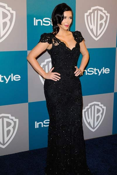 Kim Kardashian 3th Annual Warner Bros InStyle party