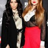 Kim and Khole Kardashian
