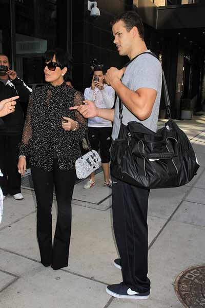 Kris Humphries and Kris Jenner