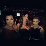 Kim , Kim's mom and Sofia Vergara