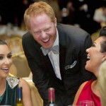 Kris Jenner, Kim-Kardashian and Jesse Tyler Ferguson
