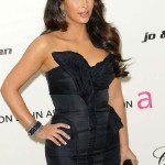 Kim Kardashian at Elton John Oscars Party