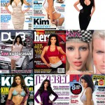 Kim Kardashian covers