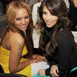 Kim Kardashian Mel B Paris Las Vegas Hotel