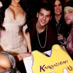 Robert Kardashian birthday party