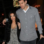 romantic walk of Kim Kardashian and Kris Humphries in NYC