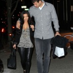 Kim Kardashian and Kris Humphries romantic walk in NYC