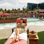 Kim Kardashian at Wet Republic