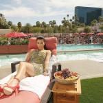 Kim at Wet Republic in Las Vegas