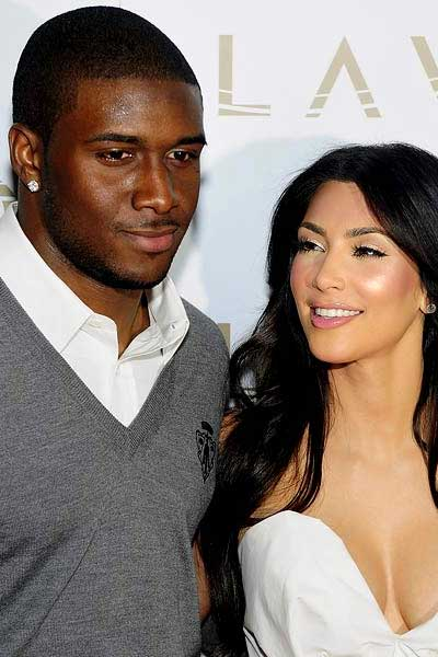 Reggie Bush and sex tape star Kim Kardashian