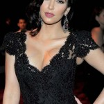 Kim Kardashian at Golden Globe 2012