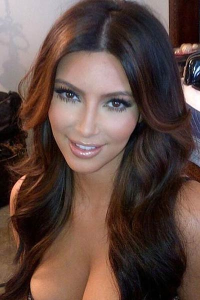 Kim Kardashian new hair color