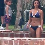Kim Take a vacation in the Dominican Republic